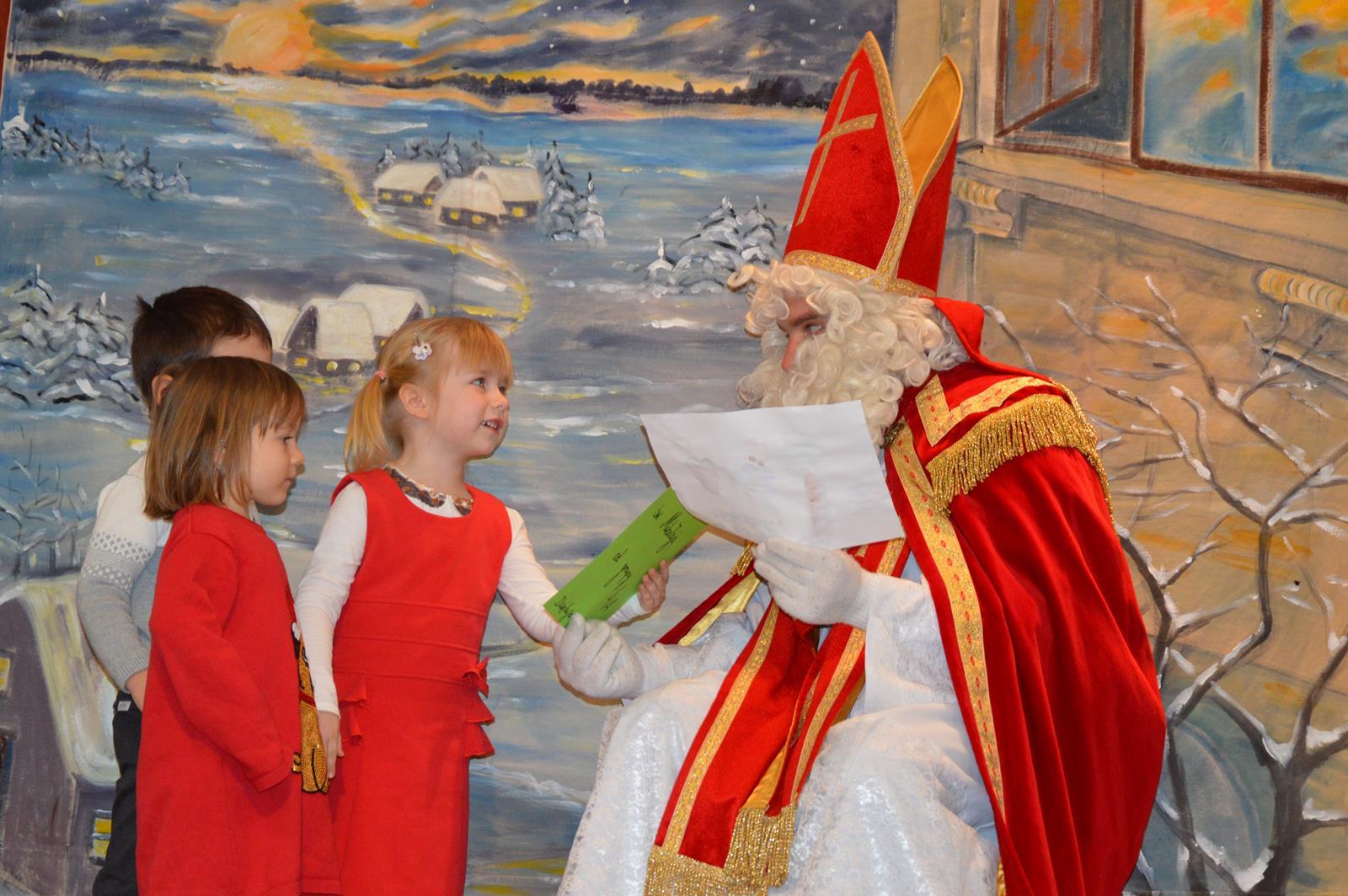 Przyjdź do nas, przyjdź do nas św. Mikołaju