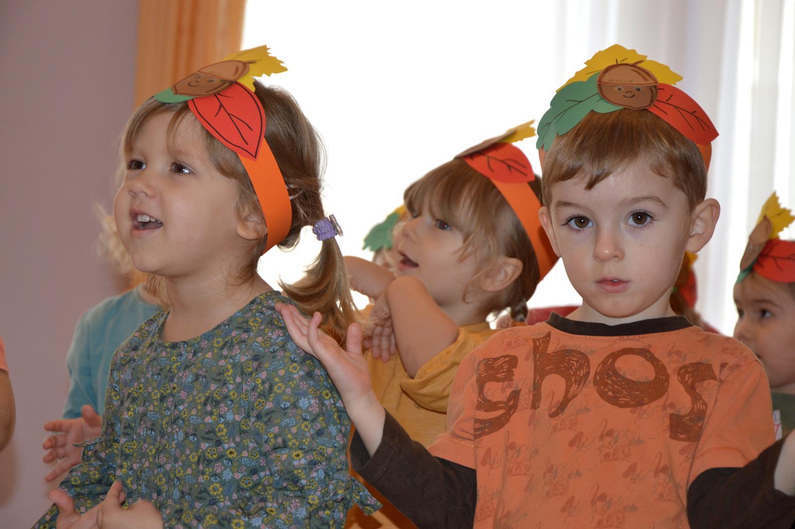Zabawy w kolorach jesieni